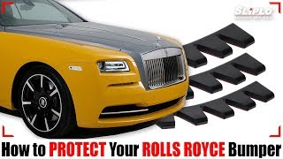 How SLIPLO Rolls Royce Bumper Scrape Guard Can Protect Your Car