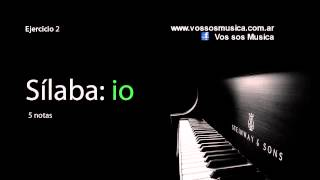 Ejercicios de vocalización - Clases de canto