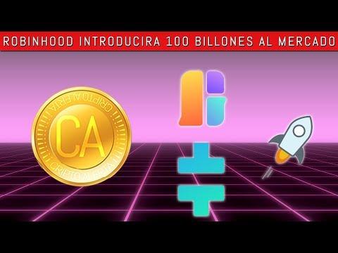 Robinhood introduce mercado CRYPTO. $100 Billones+ en Volumen! Tetha Token, Game.com, Stellar (XLM)
