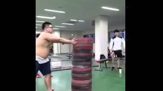 Прыжки корейцев с места в высоту