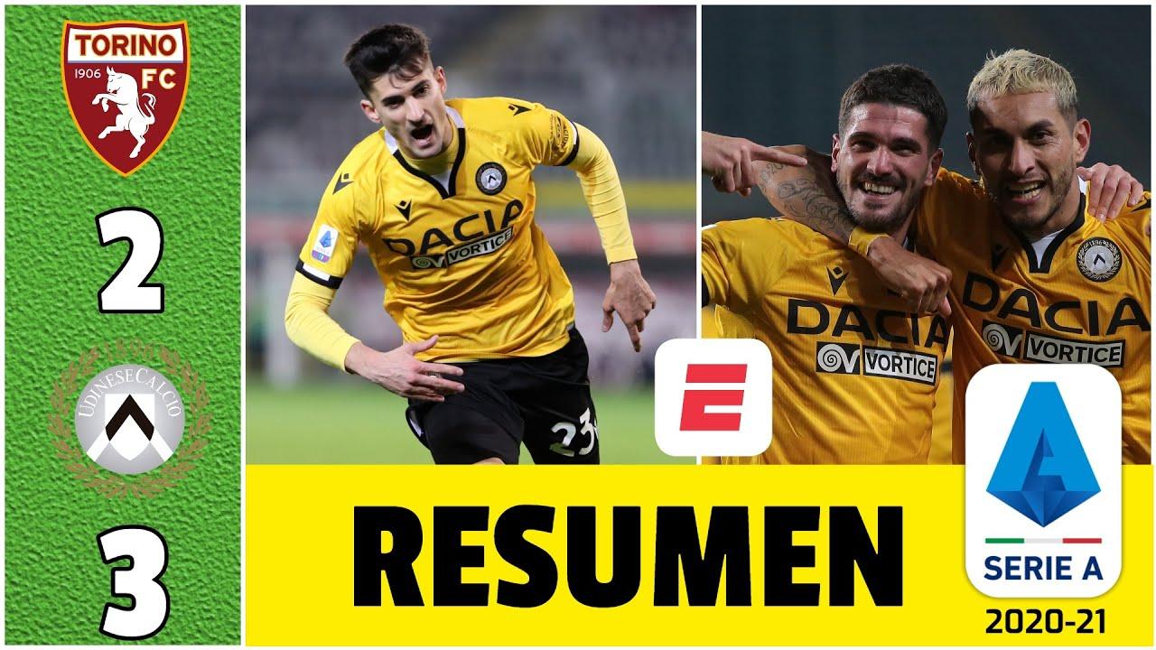 Download Torino 2-3 Udinese. ¡Lluvia de goles en Turín! Nacho Pussetto y Rodrigo De Paul anotaron | Serie A