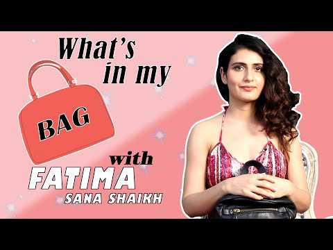 What's in My Bag with Fatima Sana Shaikh | Fatima Sana Shaikh Interview | Filmfare Exclusive Mp3
