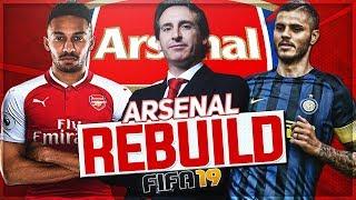 Rebuilding Arsenal FC | Can Arsenal FINALLY Win Champions League? | FIFA 19 Career Mode