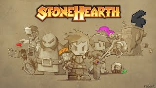 Stonehearth Gameplay - Full Release 2018 - My Little Town - Worth Buying - PC version HD