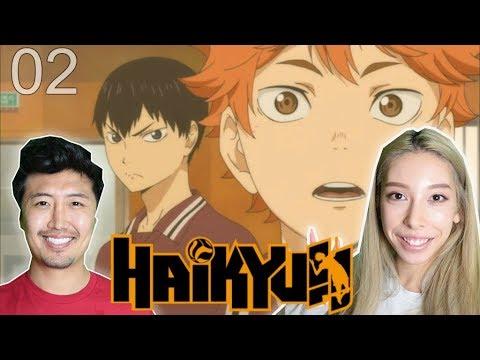 HAIKYUU!! Episode 2 REACTION!! : Karasuno VolleyBall CLUB!!