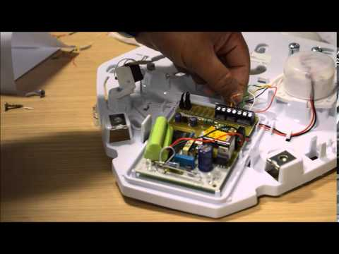 wiring a texecom panel youtube rh youtube com bell box wiring diagram wiring up a bell box