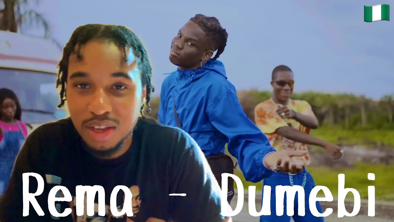 Rema - Dumebi | American First Reaction To Nigerian Music