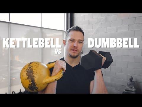 Kettlebells vs Dumbbells