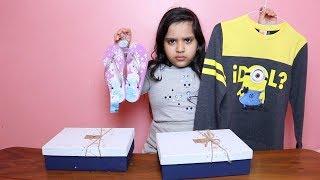 تحدي صندوق الغامض بالملابس !!! Mystery Box of Outfit Switch-Up Challenge