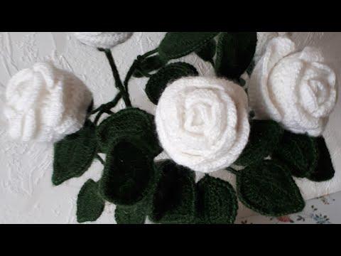 Фриформ розы крючком