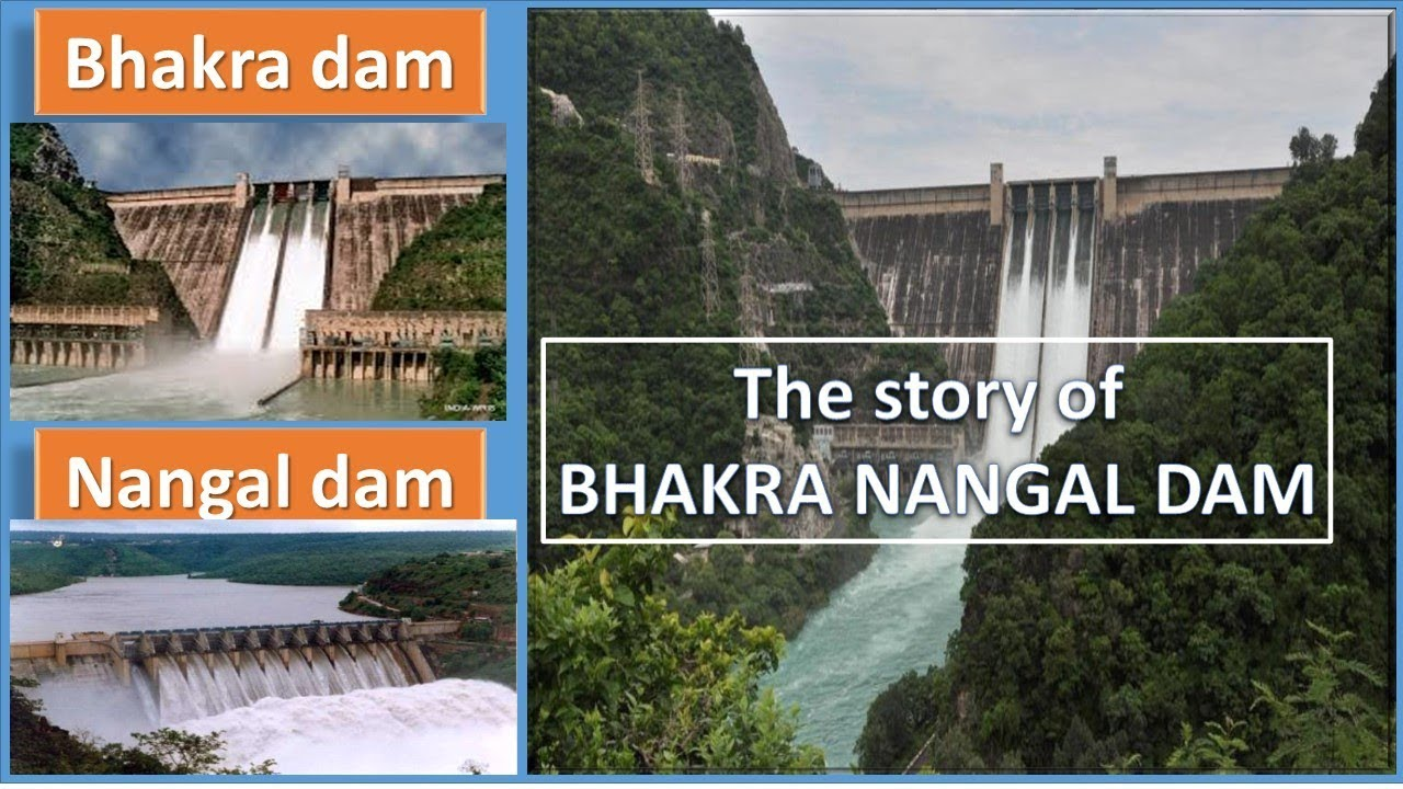 Image result for 2. Bhakra Nangal Dam