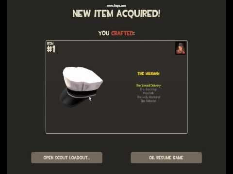 TF2-Crafting a Polycount Hat (Scout Milkman)