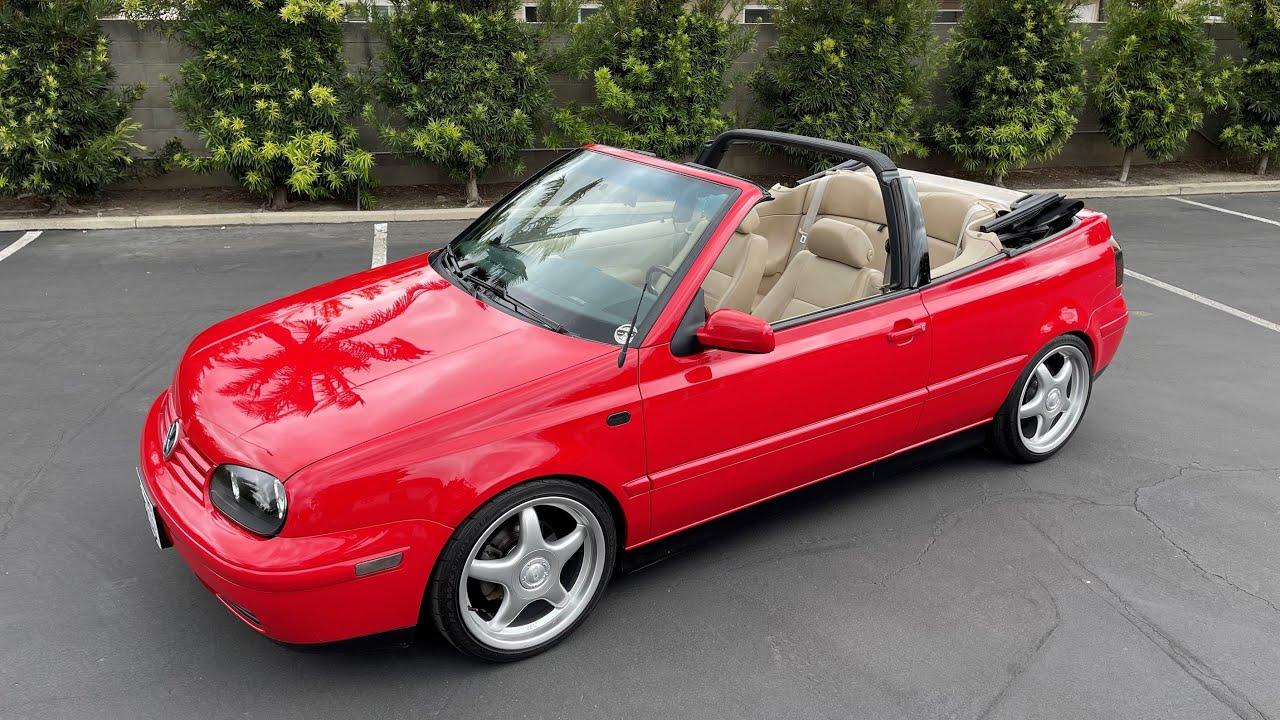 Selling my 2001 VW Cabrio GLX on PCarMarket