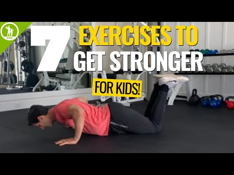 7 Exercises for Kids to Get Stronger! Fitness for Kids at Home