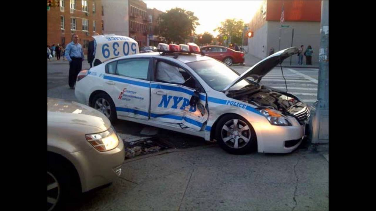 10-85 NYPD 75th PCT Car Crash