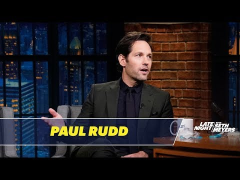 Paul Rudd Reveals Details About AntMan and the Wasp