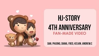 hj story 4th anniversary fan made poem video