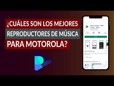 ¿Cuáles son los Mejores Reproductores de Música Gratis para Motorola Android?