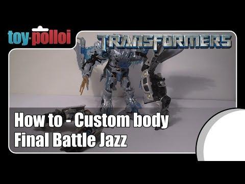 Transformers Final Battle Jazz simple Modification