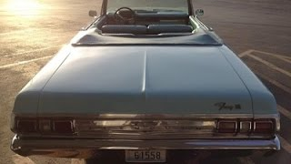 1965 Plymouth Fury 3 Convertible Part5 Test Drive - Classic Car Addiction