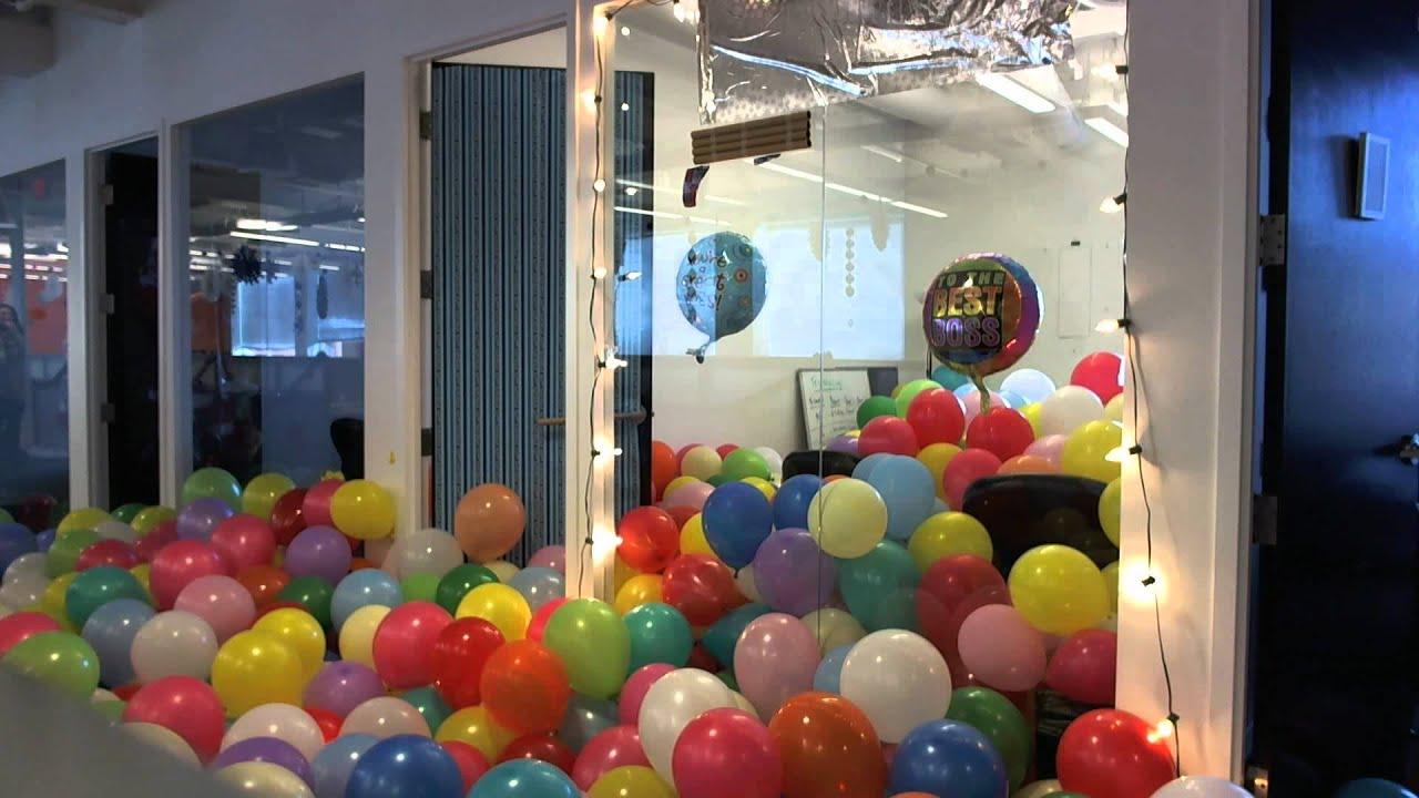 Office Balloon Prank - YouTube