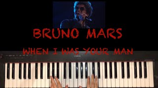 Bruno Mars - When I Was Your Man - How To Play - Easy Piano Tutorial