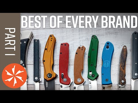 Best Knife from Every Brand in 2021, Part 1