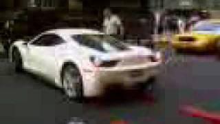 Ferrari 458 Italia,a day on Park Ave,NYC