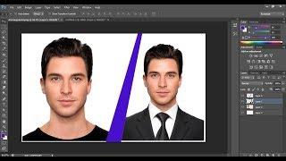 How to Change suit or coat in Photoshop CS6 | Photoshop tutorial screenshot 4