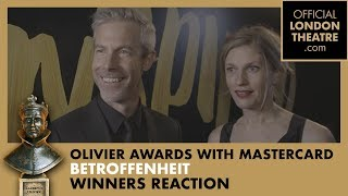 Winners Reaction: Best New Dance Production for Betroffenheit