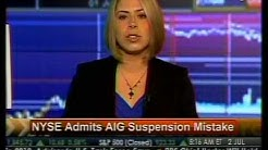 NYSE Admits AIG Suspension Mistake - Bloomberg
