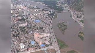 Çin'de deprem sonrası heyelan korkusu
