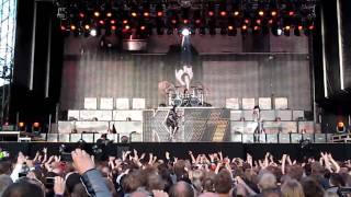 You Wanted the Best, You Got the Best...KISS Intro Trondheim 8 juni 2010 HD