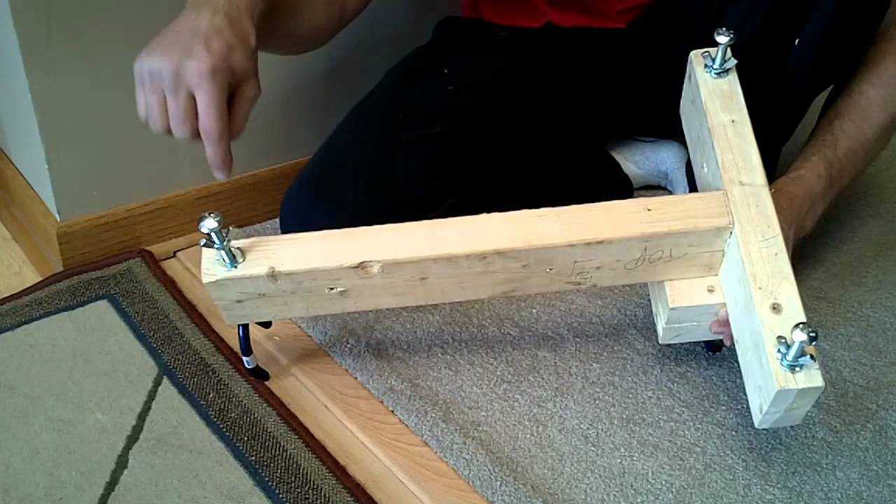 Rifle Shooting Stand / Rest DIY Homemade $5 - YouTube
