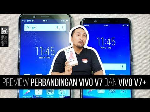 Preview Perbandingan Vivo V7 dan Vivo v7+
