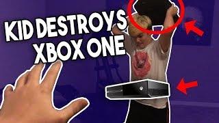 KID BREAKS XBOX ONE (RAGE)
