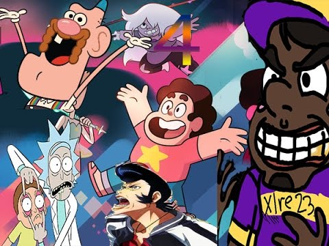 Cartoon Network 4 First impressions: Uncle Grandpa/Steven Universe/Rick and Morty/Space Dandy Review