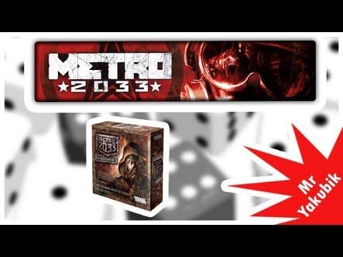 Видео обзор настольной игры Метро 2033
