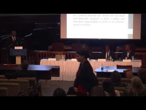 Panel Session 4 - Lessons Learned from African Law and Culture