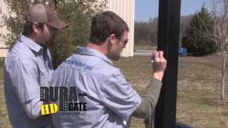 Dura-gate Hd Double Gate Installation Guide