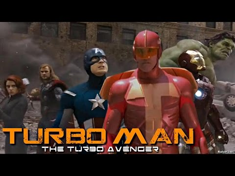 TurboMan in the Avengers (Jingle All the Way Movie) HD