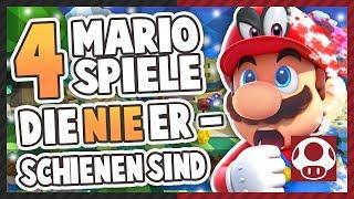 Nie veröffentlichte Mario Spiele!   UNRELEASED GAMES • Irregu