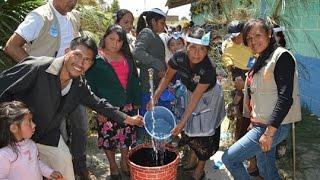 Inauguración Sistema Agua Cucuná, Tacaná, San Marcos, Guatemala