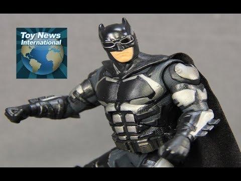 """Justice League Movie DC Comics Multiverse 6"""" Batman Figure Review"""