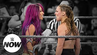 Sasha Banks goes OFF after Ronda Rousey disrespects her: WWE Now