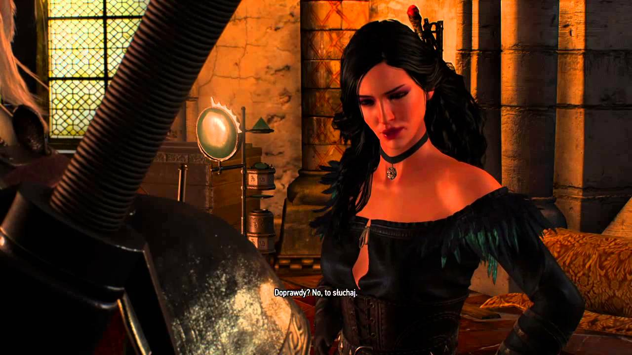 Witcher 3 ciri yennefer blowjob geralt full game on hotmodpro - 3 3