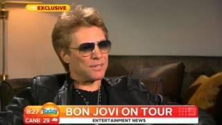 """Jon Bon Jovi talks about Sambora: """"He didn"""
