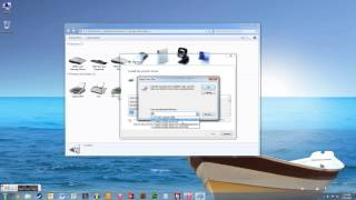 How to install HP Color LaserJet 3500 on Windows 7 (64 bit)