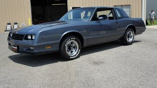 1984 CHEVROLET MONTE CARLO SS FOR SALE