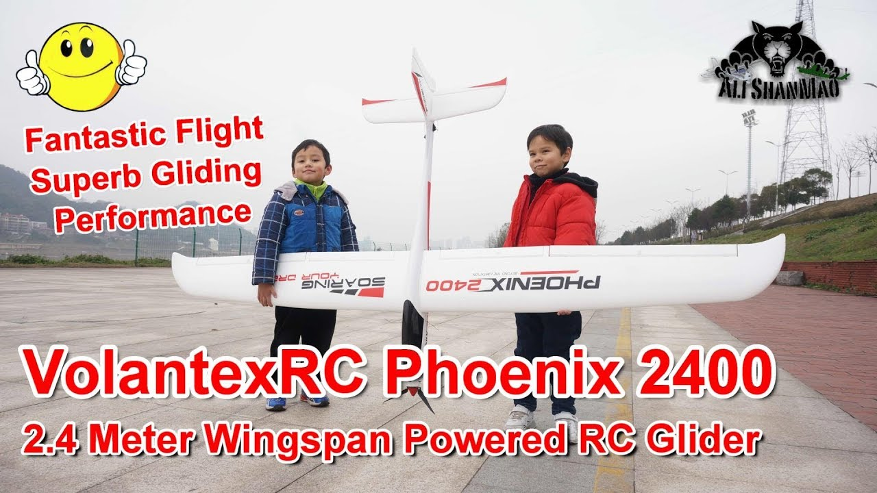 Volantex 759-3 Phoenix 2400 2400mm Wingspan EPO RC Glider Airplane